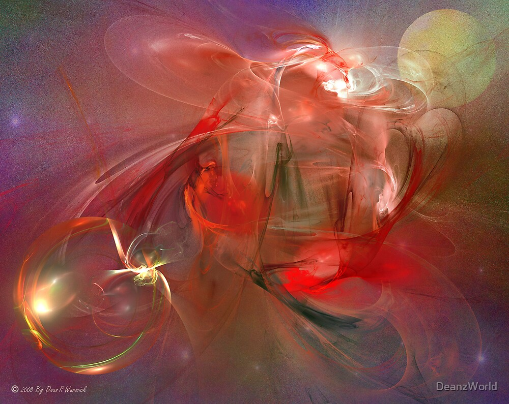 Space Abstract: Gasmic by Dean Warwick