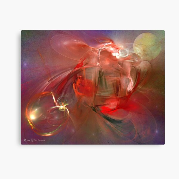 Space Abstract: Gasmic Canvas Print