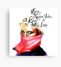 Olivia Newton-John A Little More Love Canvas Print