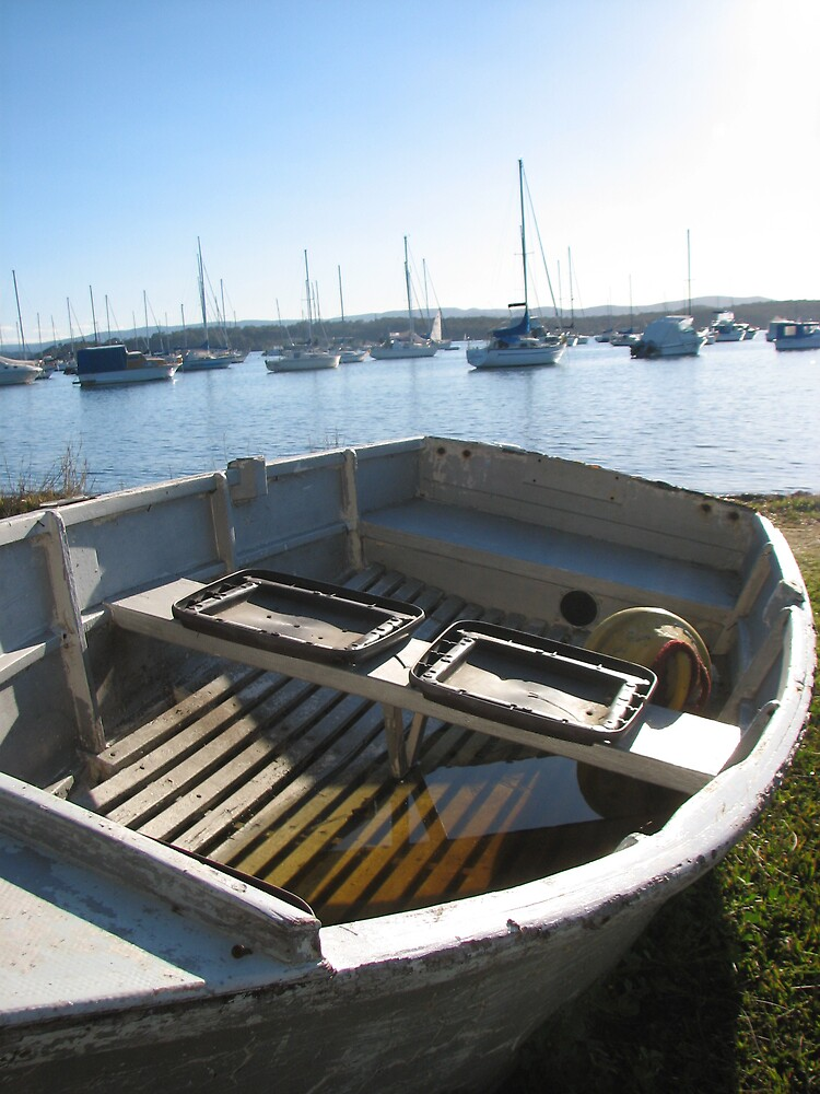 Boat on the side by Hannah2991