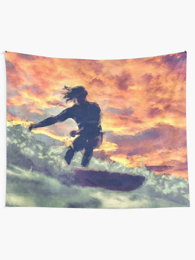 Alternate view of Surfing Tapestry