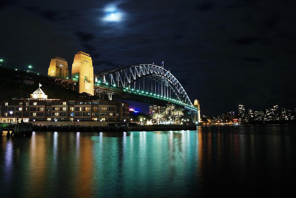 Sydney Harbour Bridge by Lucifer