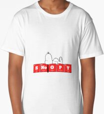 Chemistry - Periodic Table Elements: SNoOPY Long T-Shirt