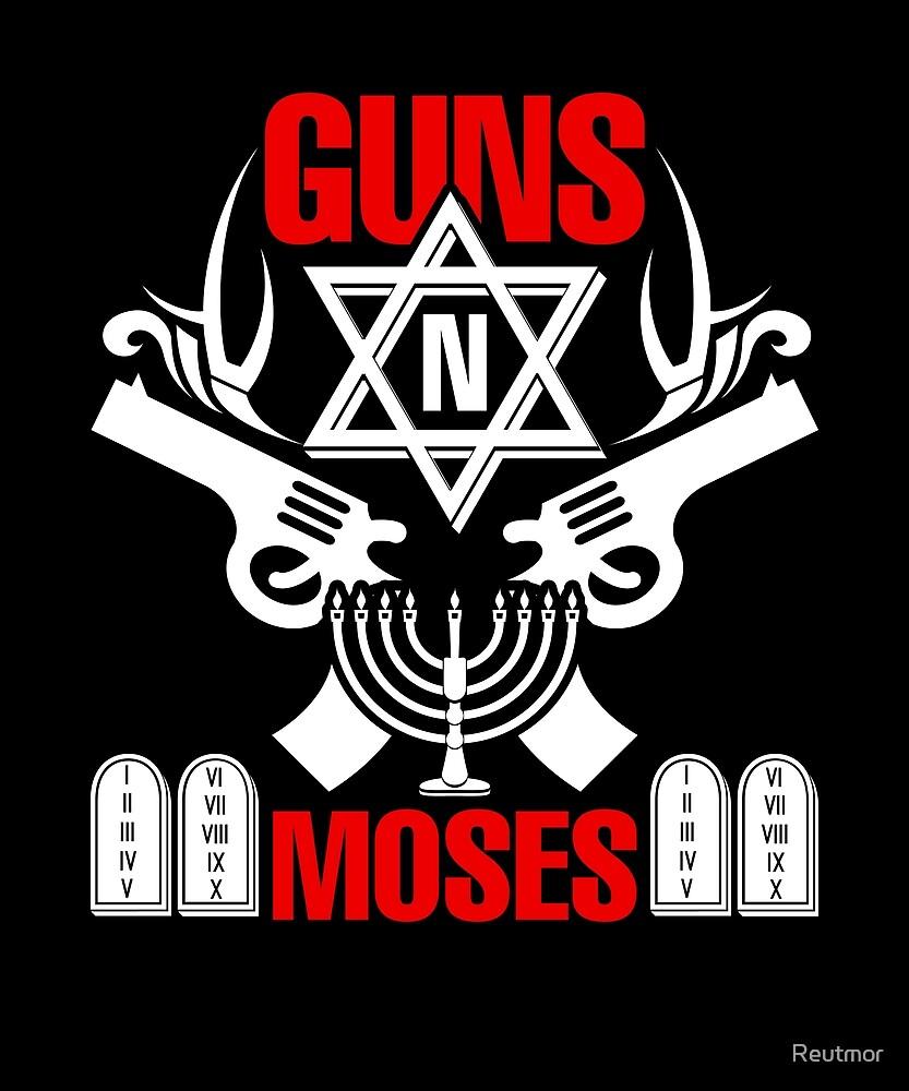 Guns N Moses- Funny Jewish Israeli Army Rock  by Reutmor