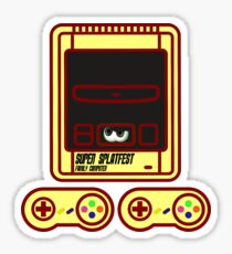 Super family computer ink Sticker