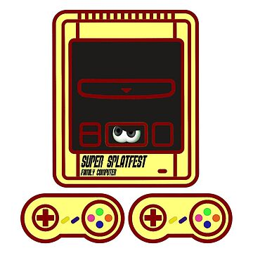 Super family computer ink by JohnnyPixel