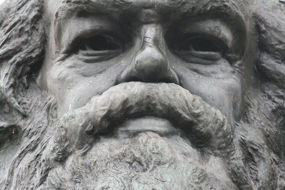 Karl Marx by Alastair Humphreys