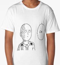 One Punch Man - Saitama OK  Long T-Shirt