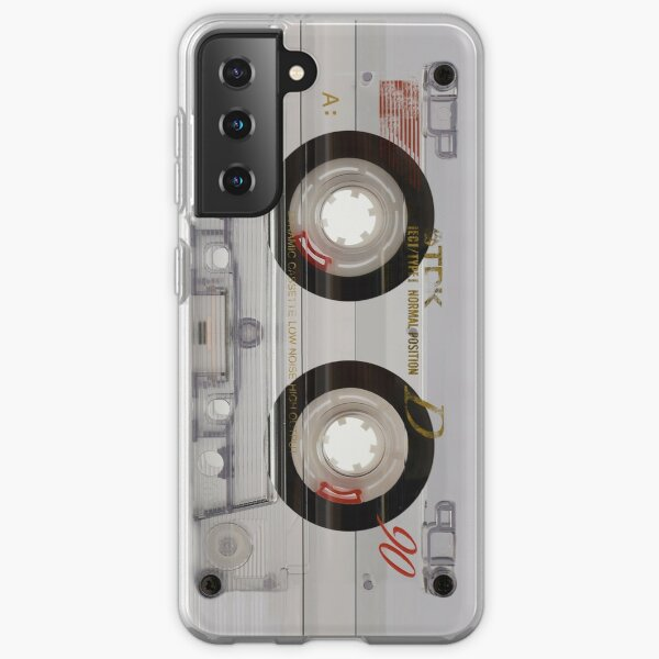 Transparent Cassette (Phone Case) Samsung Galaxy Soft Case