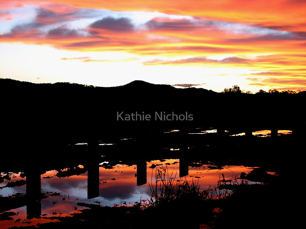 Sunset after the Rain by Kathie Nichols