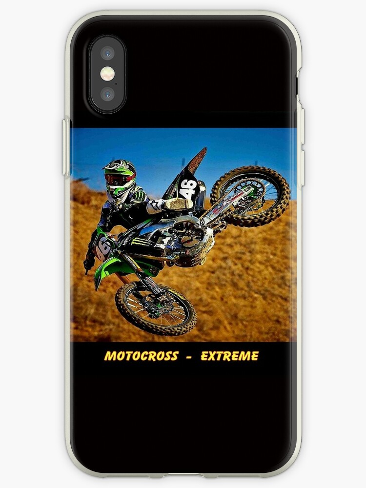 MOTOCROSS EXTREME: Motorcycle Racing Advertising Print by posterbobs