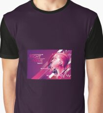 Night Wave Graphic T-Shirt