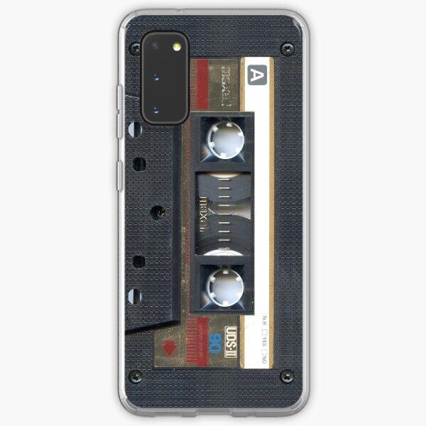 Cassette Gold (Phone Case) Samsung Galaxy Soft Case