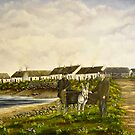 """Those were the days - Scattery Island, County Clare, Ireland"" by Avril Brand"