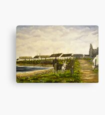 """""""Those were the days - Scattery Island, County Clare, Ireland"""" Canvas Print"""