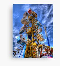 The Zipper Canvas Print