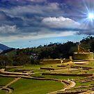 The Inca-Canari Ruins At Ingapirca IX by Al Bourassa