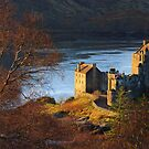 Eilean Donan Castle from Carr Brae. Dornie, Western Highlands of Scotland. by PhotosEcosse