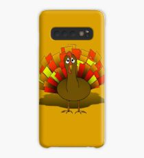 Worried  Thanksgiving Turkey Case/Skin for Samsung Galaxy
