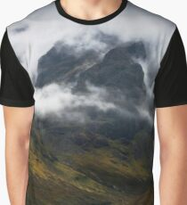 Blaven and malevolent weather. Isle of Skye, Scotland. Graphic T-Shirt