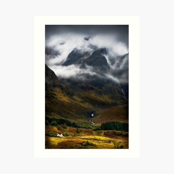 Blaven and Malevolent Weather Isle of Skye Scotland. Art Print