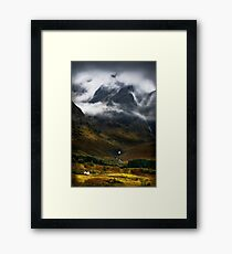 Blaven and malevolent weather. Isle of Skye, Scotland. Framed Print
