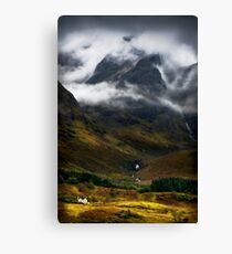 Blaven and malevolent weather. Isle of Skye, Scotland. Canvas Print
