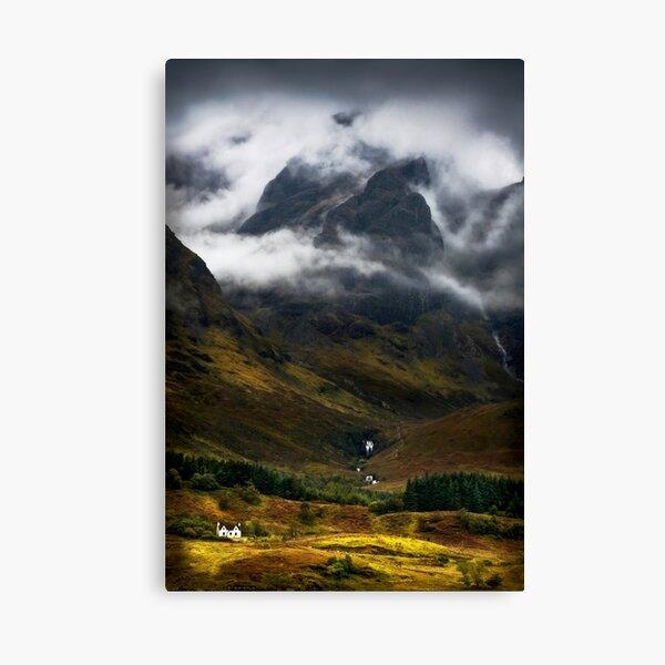 Blaven and Malevolent Weather Isle of Skye Scotland. Canvas Print