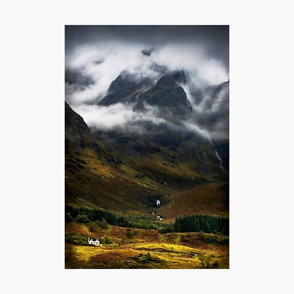 Blaven and Malevolent Weather Isle of Skye Scotland. Photographic Print