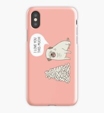 pug's love iPhone Case