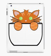Ginger Tabby Pocket Cat iPad Case/Skin
