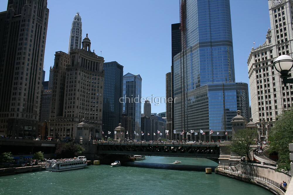 Summer Day in Chicago by chidesigner