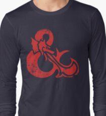 Ampersand - Dungeons & Dragons Retro Long Sleeve T-Shirt