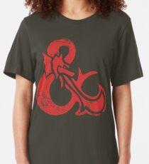 Ampersand - Dungeons & Dragons Retro Slim Fit T-Shirt