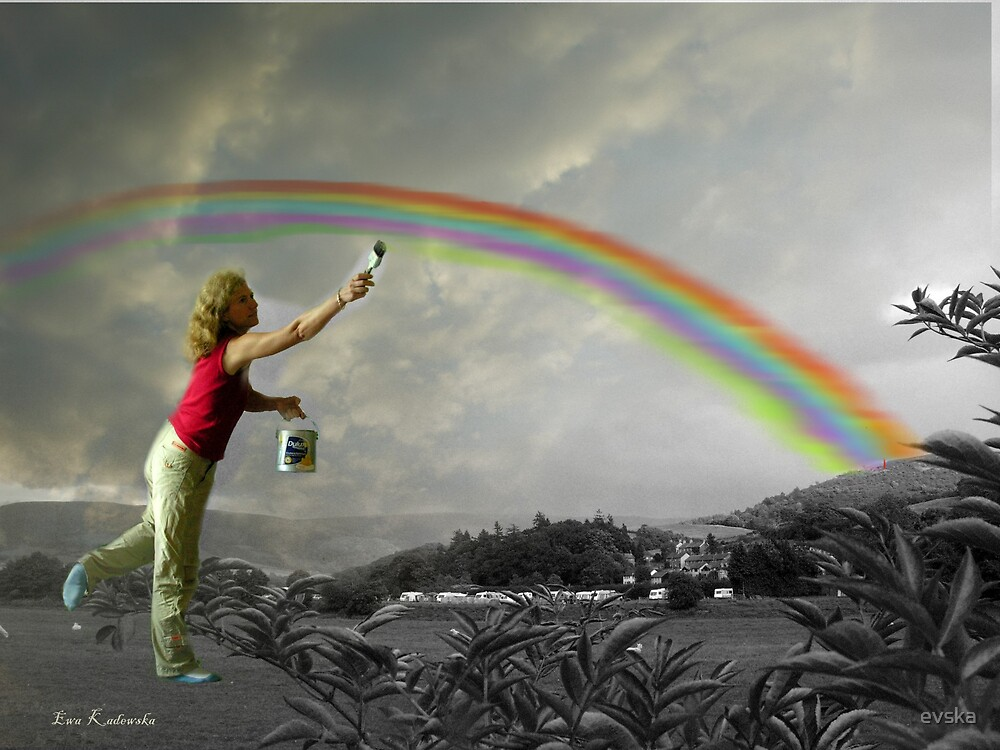 rainbow painter by evska