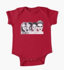 The Many Faces of Natalie Portman One Piece - Short Sleeve