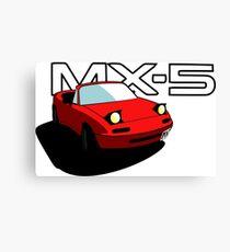 Mazda MX-5 Canvas Print