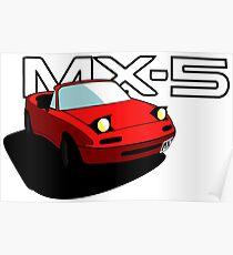 Mazda MX-5 Poster