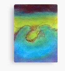 Water's landscape Canvas Print