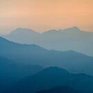 Himalayan Sunrise, Sarangkot, Nepal by Kasia Nowak