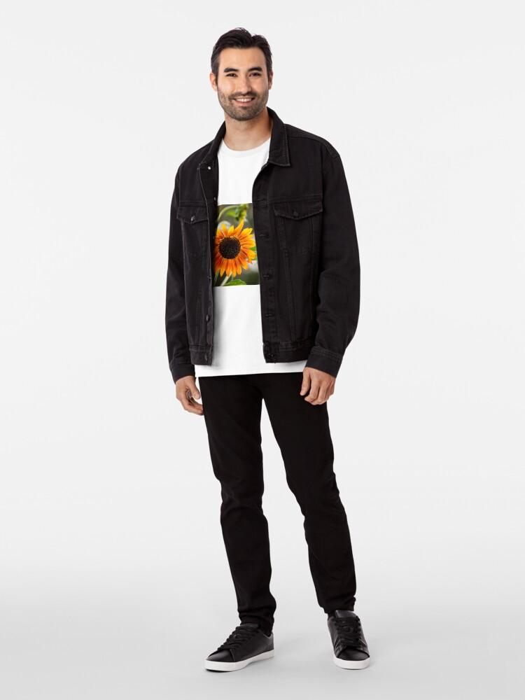 Alternative Ansicht von Orange Sonnenblume Premium T-Shirt