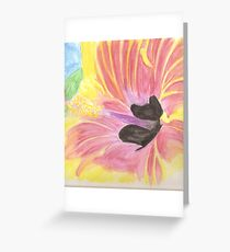 Bright Orchid Greeting Card