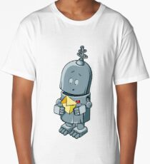 The cute robot cartoon  Long T-Shirt