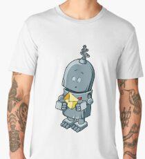 The cute robot cartoon  Men's Premium T-Shirt