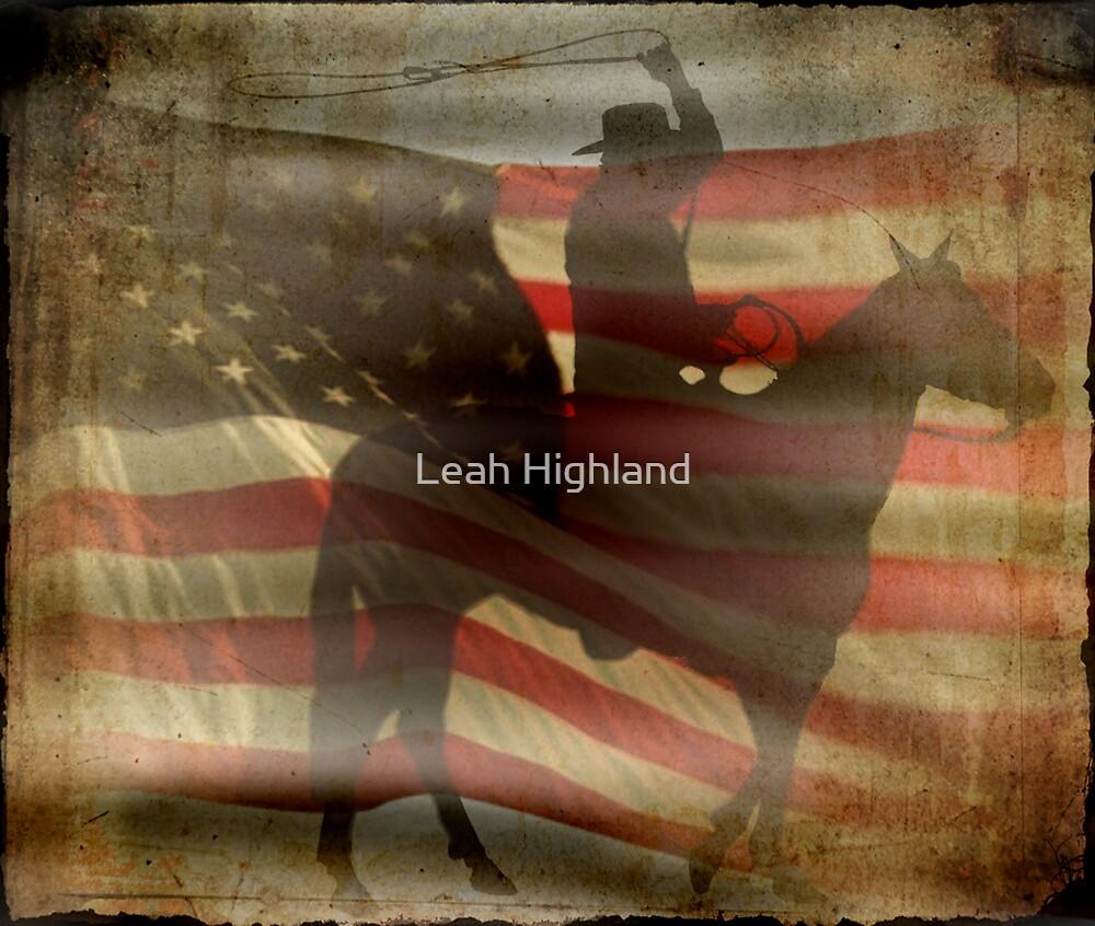 American Cowboy by Leah Highland