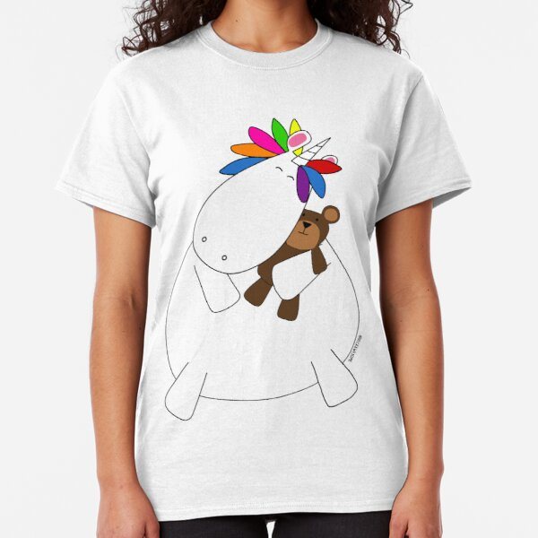 Ted The Unicorn and Teddy Classic T-Shirt