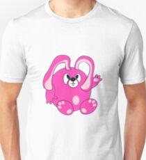 Pink-Hase T-Shirt
