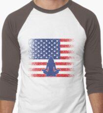 US Yoga Pride Flag - Gift for Yoga Lover T-Shirt