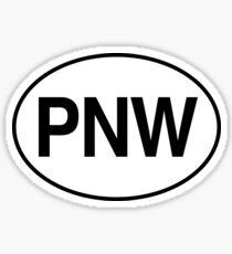 PNW - Pacific Northwest  Sticker