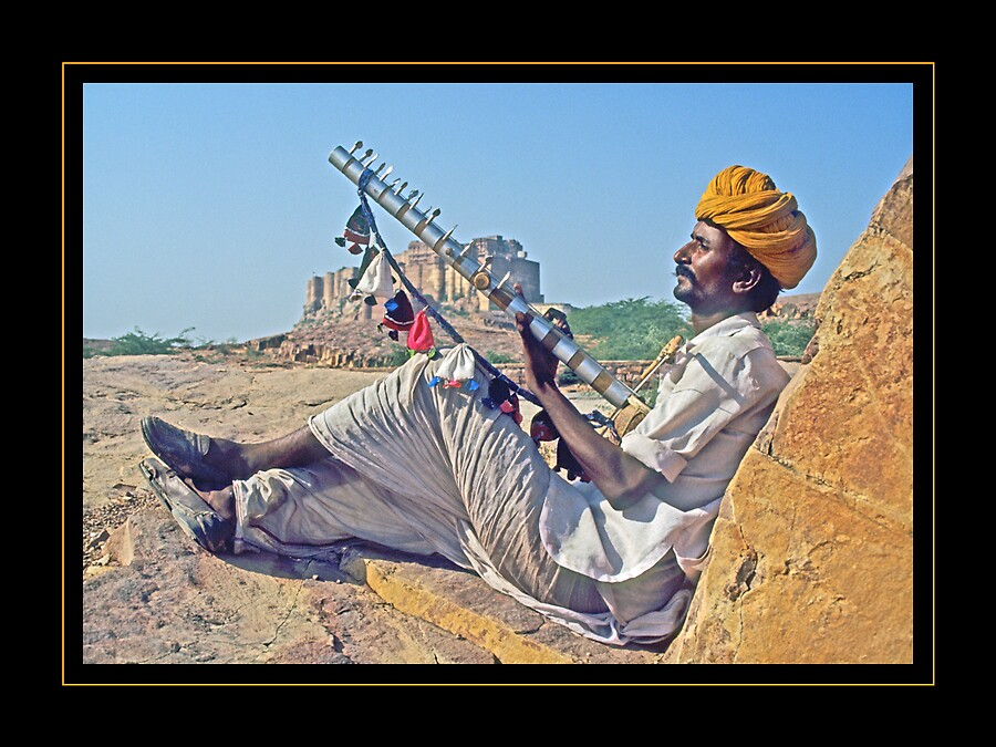 Viberations of music from Rajasthan by satwant